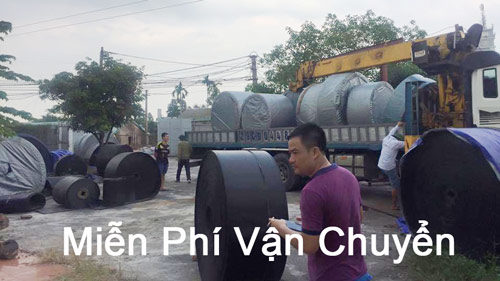 Vận chuyển băng tải cao su miễn phí
