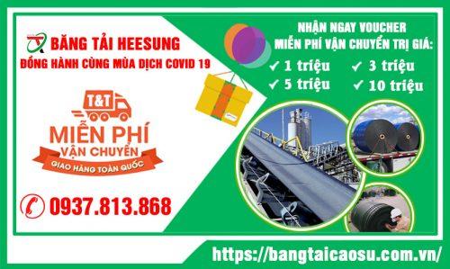 Khuyến mại chương trình băng tải cao su